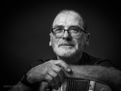 Albert Barsch, accordeonist. Karakterportret 2017